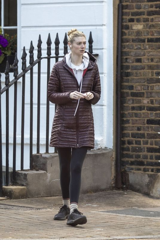 ELIZABETH DEBICKI Out and About in London 05/12/2021