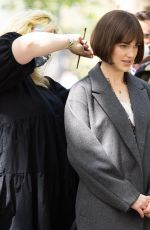 ELIZABETH HENSTRIDGE and GEORGINA CAMPBELL on the Set of Suspicion in New York 05/04/2021