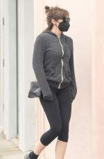 ELIZABETH OLSEN Out and About in Studio City 05/10/2021