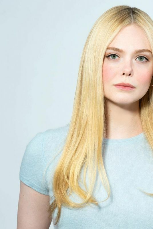 ELLE FANNING for One Click Podcast, 2021