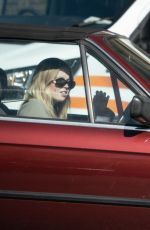 ELLIE BAMBER Out Driving Her 1980