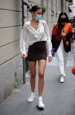 ELODIE Out and About in Milan 05/18/2021