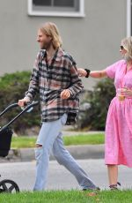 ELSA HOSK and Tom Daly Out in Los Angeles 05/02/2021