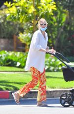 ELSA HOSK Out for Coffee with her Daughter in Los Angeles 05/08/2021