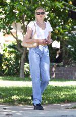 ELSA HOSK Out in Los Angeles 04/29/2021