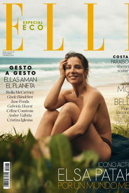 ELSA PATAKY in Elle Magazine, Spain June 2021