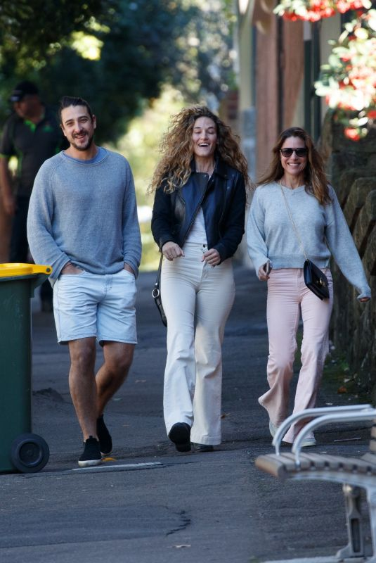 ELSA PATAKY Out with Her Brother Cristian Prieto and Sister in-law Silvia Serra in Sdyney 05/18/2021