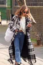 EMILIA CLARKE Out and About in London 05/02/2021