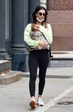 EMILY RATAJKOWSKI Out and About in New York 05/04/2021