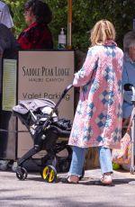 EMMA ROBERTS and Garret Hedlund at Saddle Peak Lodge Restaurant in Calabasas 05/09/2021