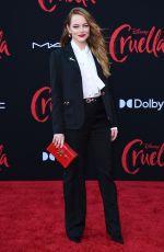 EMMA STONE at Cruella Premiere in Los Angeles 05/18/2021
