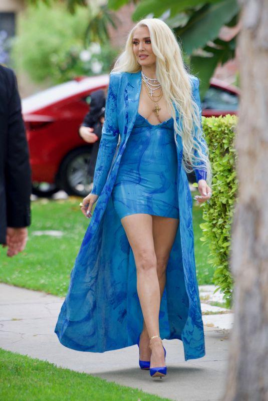 ERIKA JAYNE Heading to MTV Movie Awards 05/14/2021