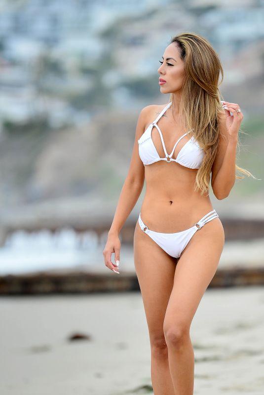 ESTHER ANAYA in Bikini at a Beach in Malibu 05/26/2021