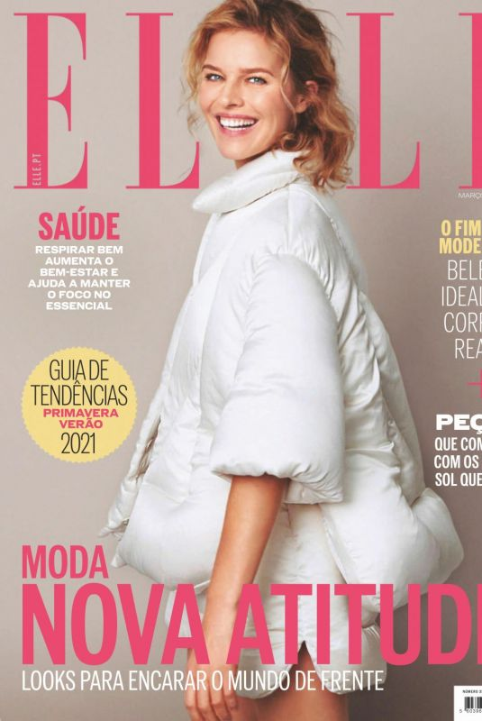 EVA HERZIGOVA in Elle Magazine, March 2021