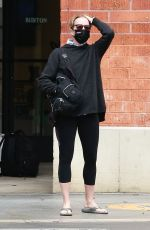 FELICITY HUFFMAN Out and About in Santa Monica 05/14/2021