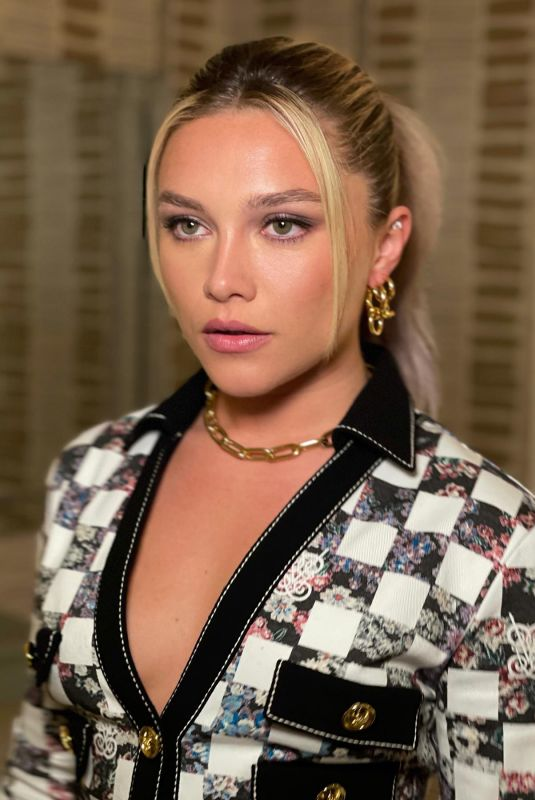 FLORENCE PUGH - Black Widow Publicity Photoshoot, May 2021