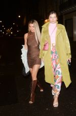 FRANCESCA ALLEN and JOANNA CHIMONIDES at Mnky Hse in London 05/17/2021