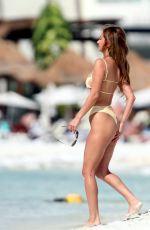 FRANCESCA FARAGO in Bikini at a Beach in Mexico 05/21/2021