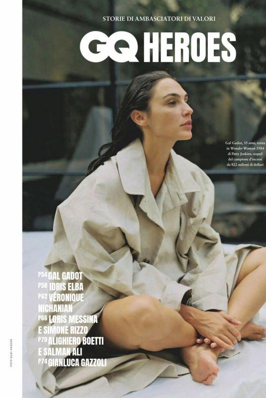 GAL GADOT in Grazia Magazine, Italy February 2021