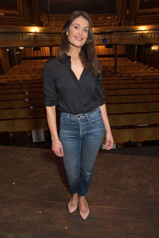 GEMMA ARTERTON at Walden Opening Night Photocall in London 05/27/2021