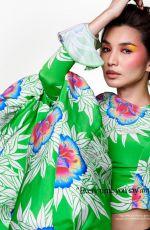 GEMMA CHAN in Elle Magazine, UK February 2021