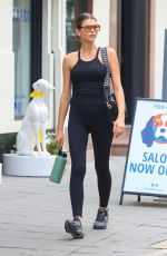 GEORGIA FOWLER Leaves Vive Active Gym in Sydney 05/08/2021