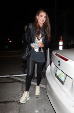 GEORGIA HARRISON at Catch LA in West Hollywood 05/24/2021