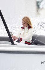 GERI HALLIWELL at a Boat during Monaco Grand Prix 05/22/2021