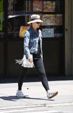 GINA GERSHON Out and About in New York 05/17/2021