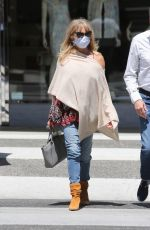 GOLDIE HAWN Out for Lunch in Beverly Hills 05/21/2021