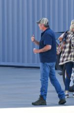 GWEN STEFANI and Blake Shelton Arrives in Los Angeles 05/16/2021