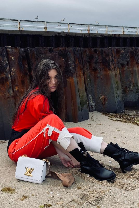 HAILEE STEINFELD at a Photoshoot, May 2021