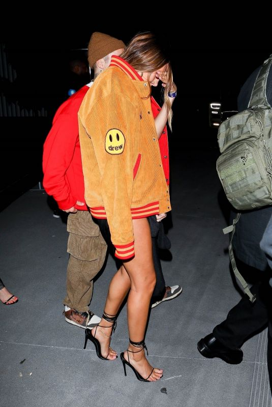 HAILEY and Justin BIEBER at Billboard Music Awards Afterparty in Inglewood 05/23/2021