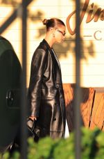 HAILEY and Justin BIEBER at Pace Italian Restaurant in Los Angeles 05/11/2021