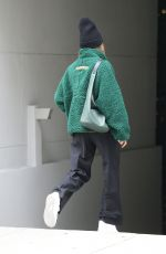 HAILEY BIEBER and Scooter Braun at Scooter