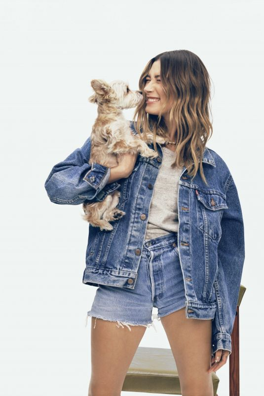HAILEY BIEBER for Levi's 501 Jeans Campaign, May 2021