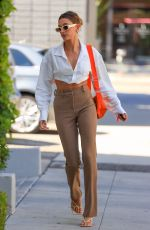HAILEY BIEBER Heading to a Business Meeting in Los Angeles 05/04/2021