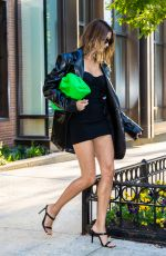 HAILEY BIEBER Leaves Her Apartment in New York 05/17/2021