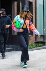 HAILEY BIEBER Out for Lunch in New York 05/17/2021