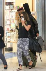 HALLE BERRY and Van Hunt at Airport in Orlando 05/07/2021
