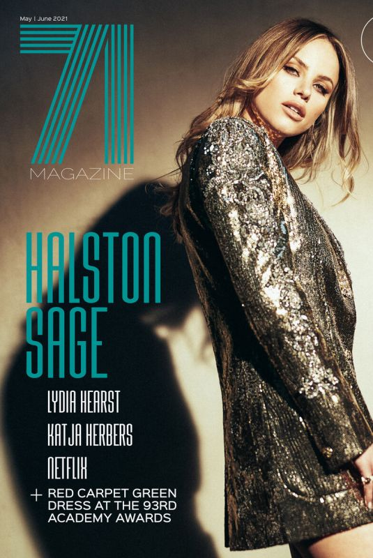 HALSTON SAGE in 71 Magazine, May/June 2021