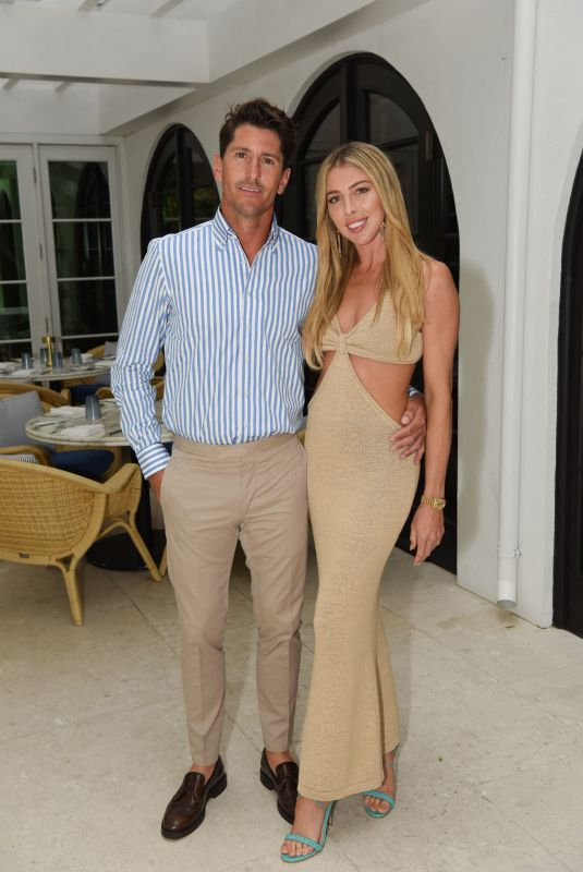 HANNAH SELLECK and Nic Roldan at a Cocktail Party at Surf Club Restaurant in Miami 04/22/2021