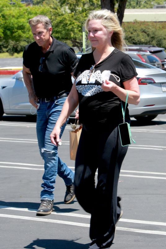 HEATHER LOCKLEAR and Chris Heisser Out in Agoura Hills 05/24/2021