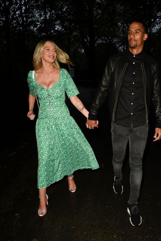 HELEN FLANAGAN Night Out in Cheshire 05/08/2021