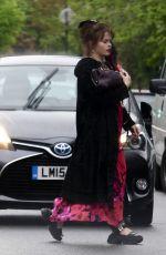 HELENA BONHAM CARTER Out in London 05/21/2021