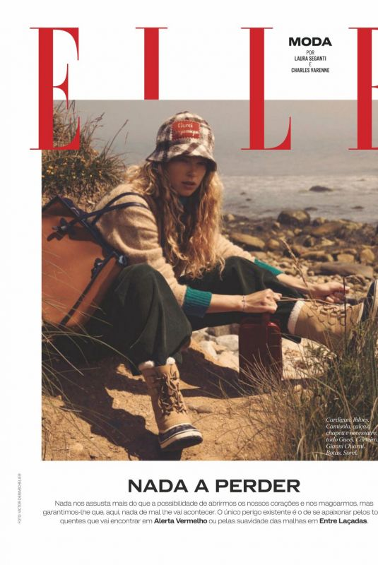 HELOISE GUERIN in Elle Magazine, Portugal February 2021
