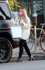 HILARY DUFF Out for Lunch at Petit Trois in Los Angeles 05/04/2021
