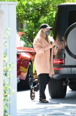 HILARY DUFF Out in Los Angeles 05/02/2021