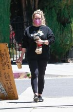 HILARY DUFF Out in Studio City 04/30/2021