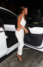 INANNA SARKIS at Catch LA in West Hollywood 05/26/2021